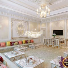​Interior design company in Dubai Luxury Antonovich Design: asian Dining room by Luxury Antonovich Design