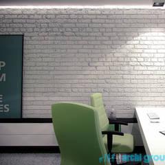Chambre d'adolescent de style  par Archi group Adam Kuropatwa