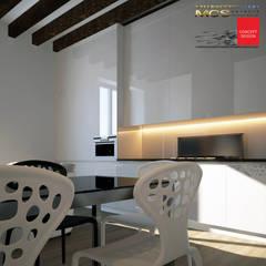 Appartamento privato 13: Cucina in stile  di MELLINACORTISTUDIO