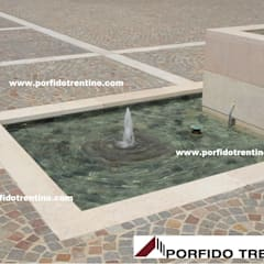 Garden Pond by PORFIDO TRENTINO SRL, Modern Stone