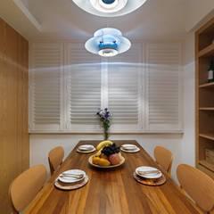 台北 - 中和:  餐廳 by 禾廊室內設計,