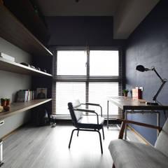 اتاق کار و درس توسط大觀創境空間設計事務所, صنعتی