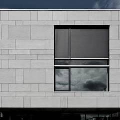Fassadengestaltung:  Bungalow von Casaplaner Modulhaus Schweiz