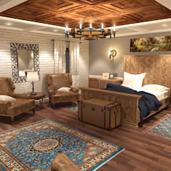 Bedroom by Quattro designs