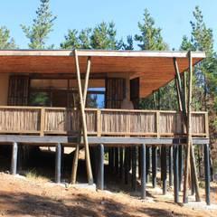 Casa de Fardos: Casas de estilo  por Kimche Arquitectos