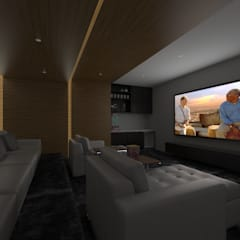 Media room by SEZIONE