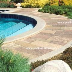 Projekty,  Basen do ogrodu zaprojektowane przez PORFIDO TRENTINO SRL