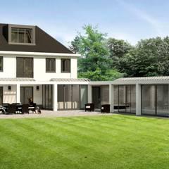 Haciendas de estilo  por Brand I BBA Architecten, Rural