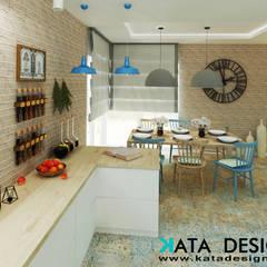Dom pod Krakowem 140 m2: styl , w kategorii Kuchnia zaprojektowany przez Kata Design
