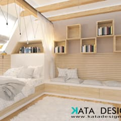 Teen bedroom by Kata Design, Modern Bamboo Green