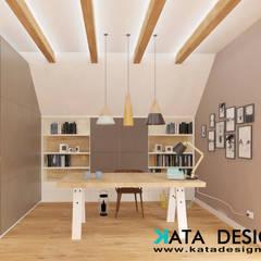 Dom pod Krakowem 140 m2: styl , w kategorii Pokój młodzieżowy zaprojektowany przez Kata Design