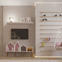 Nursery/kid's room by Tobi Architects