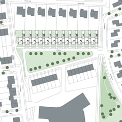 Patiowoningen Nieuw Poelveld, Eijsden:  Trap door Verheij Architecten BNA