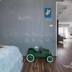 minimalistic Nursery/kid's room by 禾廊室內設計
