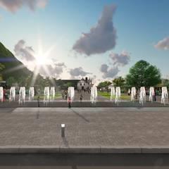 Renovação Praça Central Guaratuba: Espaços comerciais  por ArqClub - Studio de Arquitetura