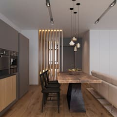 : minimalistische Küche von Tobi Architects