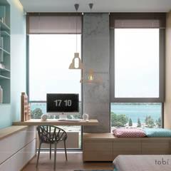 Cuartos para niños de estilo  por Tobi Architects