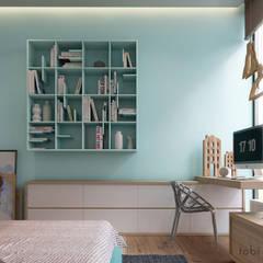 :  Kinderzimmer Junge von Tobi Architects