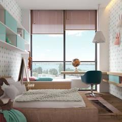 Nursery/kid's room by Tobi Architects
