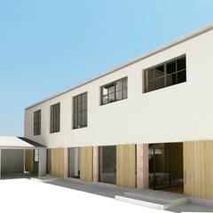 PROYECTO TRANSFORMACIÓN TALLER A VIVIENDA: Casas de estilo  de inzinkdesign