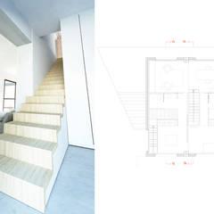 PROYECTO TRANSFORMACIÓN TALLER A VIVIENDA: Escaleras de estilo  de inzinkdesign