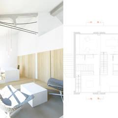 PROYECTO TRANSFORMACIÓN TALLER A VIVIENDA: Estudios y despachos de estilo  de inzinkdesign