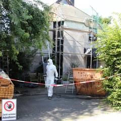 Asbestsanierung nach TRGS 519 in Bielefeld Senne - Dachdeckermeisterbetrieb Dirk Lange:  Satteldach von Dachdeckermeisterbetrieb Dirk Lange