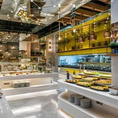 Palmiye Peyzaj Mimarlık – F ALLDAY RESTAURANT/ Fodele Beach Hotel:  tarz Yeme & İçme