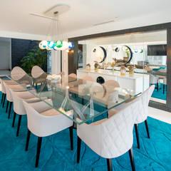 Casa T : Comedores de estilo  por Gracia Nano Studio