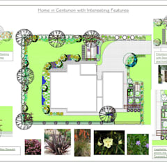 Home with Intrest in Every Corner of the Garden by Hedgehog Landscapes