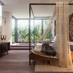 wohnzimmer von tobi architects