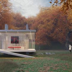 The Hut: Casas de campo  por andre cordeiro 3D VISUALISER
