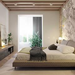 : minimalistische Schlafzimmer von Tobi Architects