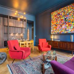 Le Blue Dream: Salon de style  par Thomas Marquez Photographie