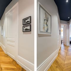 Le Blue Dream: Couloir et hall d'entrée de style  par Thomas Marquez Photographie