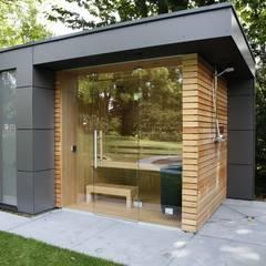 Casetas de jardín de estilo  por Gartenhauptdarsteller