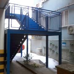 Estrutura: Escolas  por Dartora Esquadrias Metálicas