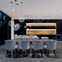 Algonquin: modern Dining room by Design Studio AiD