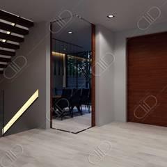 Plateau:  Corridor & hallway by Design Studio AiD
