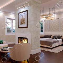 NObelton:  Bedroom by Design Studio AiD,Modern