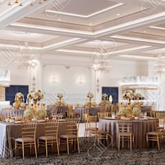 Royal Venetian Banquet Hall:  Conservatory by Design Studio AiD