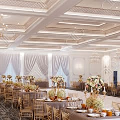Royal Venetian Banquet Hall:  Media room by Design Studio AiD
