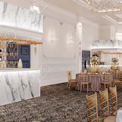 Royal Venetian Banquet Hall:  Wine cellar by Design Studio AiD