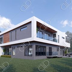 Architectural Design and Visualization:  Houses by Design Studio AiD