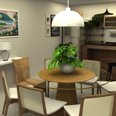 Dining room by COB Arquitetura e Design