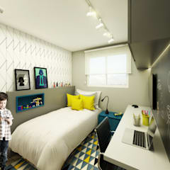 Boys Bedroom by Studio Monfre Arquitetura