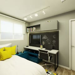 Boys Bedroom by Studio Monfre Arquitetura, Modern