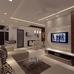 modern Living room by New Space Interior