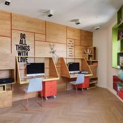 Habitaciones juveniles de estilo  por Архитектурное бюро Materia174