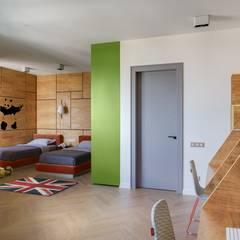 Teen bedroom by Архитектурное бюро Materia174